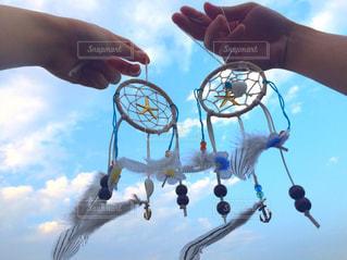 空,青空,未来,ハンドメイド,夢,願い,希望,ドリームキャッチャー