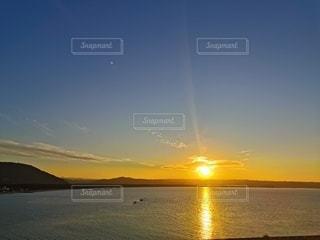 夕日,夕暮れ,海岸,サンセット,神様の通り道