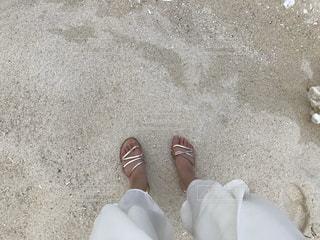 砂,ビーチ,サンダル,つま先,履物,フィート