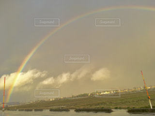 自然,空,屋外,虹