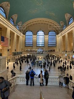 建物,海外,駅,人,旅行,たくさん,ターミナル