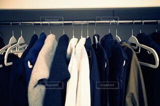 私の衣類収納術の写真・画像素材[4161424]