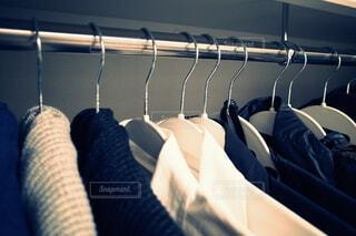 私の衣類収納術の写真・画像素材[4161423]