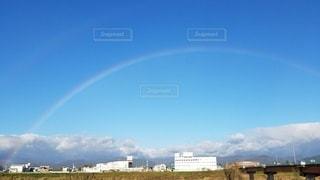 自然,空,屋外,虹,日中