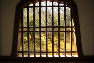 京都,窓,樹木,庭園,旅行,和風,寺院,古風,草木