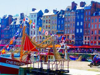 フランスの港の写真・画像素材[218844]