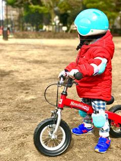 自転車,幼児,練習