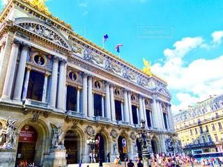 フランス、オペラ座の写真・画像素材[536539]