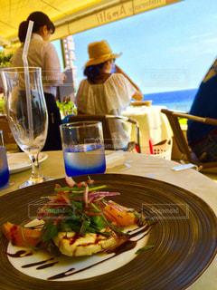 食べ物,食事,ランチ,料理,海の見えるカフェ
