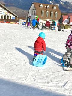 雪,子供,雪遊び,スキー,スキー場,ソリ,PassMe,エコーバレー