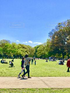 公園はお散歩日和でした。の写真・画像素材[1231744]