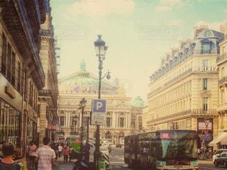 フランス旅行の写真をsnapseedでレトロ調に加工してみました。の写真・画像素材[1240382]