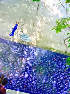 パリの愛の言葉は青かった。の写真・画像素材[1314146]