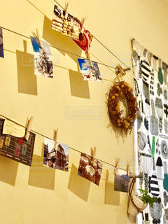 写真を使ったちょっとオシャレな壁飾りの写真・画像素材[1420063]