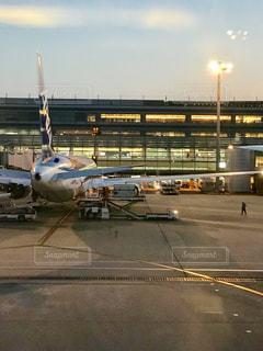 羽田空港よりフライトの写真・画像素材[1642926]