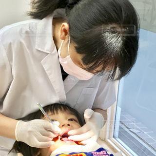 歯医者さんのマスクです。の写真・画像素材[1681981]