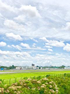 調布の飛行場の写真・画像素材[2418908]