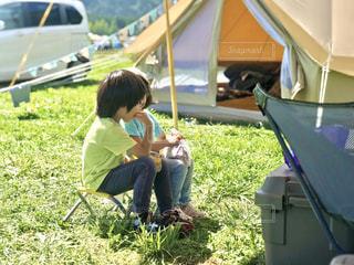 今年はたくさんキャンプをしましたの写真・画像素材[2794402]