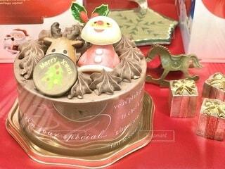クリスマスケーキの写真・画像素材[3991437]