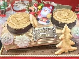 クリスマスケーキの写真・画像素材[3991436]