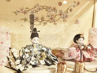 子供の初節句に雛人形を買いました。の写真・画像素材[4208362]