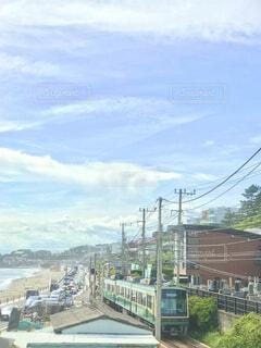七里ヶ浜の風景の写真・画像素材[4725975]