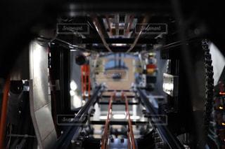 黒,未来,近未来,歯車,ギア,ロボット,内部,ベルトコンベヤー,コントロールパネル,エンジニア リング