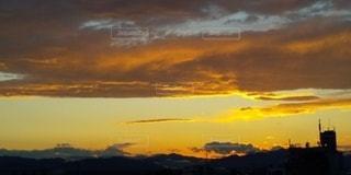 春の夕暮れ。の写真・画像素材[3401429]