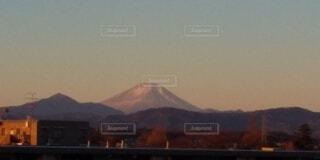 自然,風景,空,富士山,雪,屋外,朝日,雲,山,正月,お正月,日の出,新年,初日の出,日中