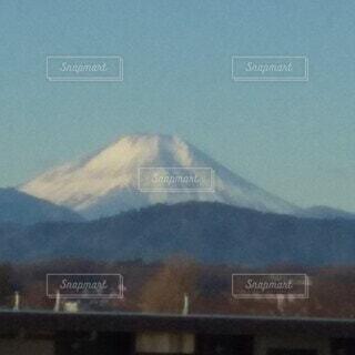 自然,風景,富士山,朝日,山,正月,お正月,元旦,日の出,新年,初日の出,日中,ベランダから