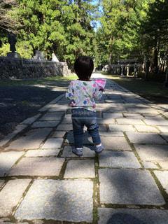 子ども,家族,散歩
