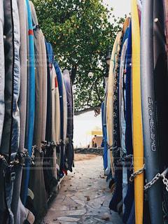 海,屋外,サーフィン,サーフボード,ハワイ,リゾート