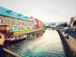 川と船の写真・画像素材[3067059]