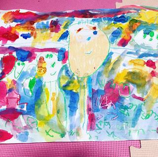 子ども,鮮やか,絵画,幼児,コンクール,入選