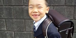 桜,人,笑顔,少年,入学式,ランドセル