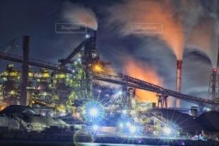 日本製鐵 高炉の写真・画像素材[3071252]
