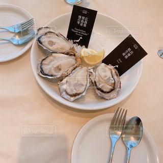 生牡蠣の写真・画像素材[3102248]