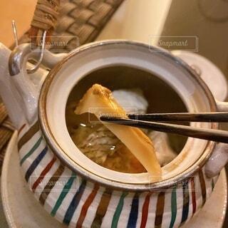 松茸の土瓶蒸しの写真・画像素材[3788386]
