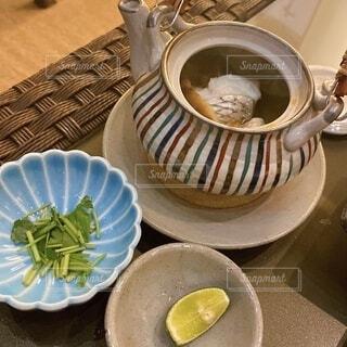 松茸の土瓶蒸しの写真・画像素材[3788387]