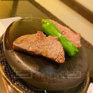 和牛の石焼きの写真・画像素材[3788420]