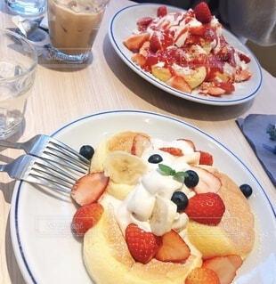ふわふわパンケーキの写真・画像素材[3927499]
