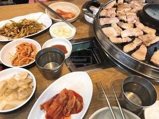 韓国焼肉サムギョプサルの写真・画像素材[4192635]