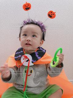 かわいい,子供,ハロウィン,男の子,仮装,1歳児