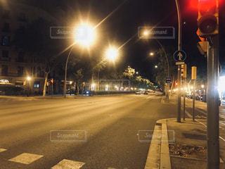 街の通りの眺めの写真・画像素材[3075242]