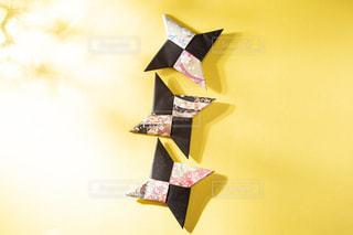 忍者の折り紙手裏剣✋➰💠の写真・画像素材[3364200]