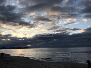 自然,海,屋外,湖,太陽,雲,海岸,くもり
