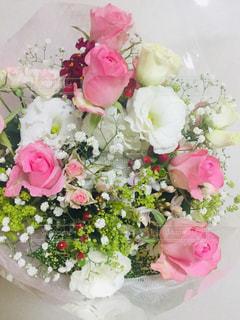 バラの花束の写真・画像素材[3085835]