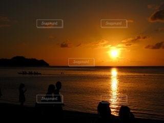 夕日の写真・画像素材[3401276]