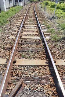 線路の写真・画像素材[3132174]