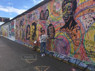 ドイツ ベルリンの壁の写真・画像素材[3090783]
